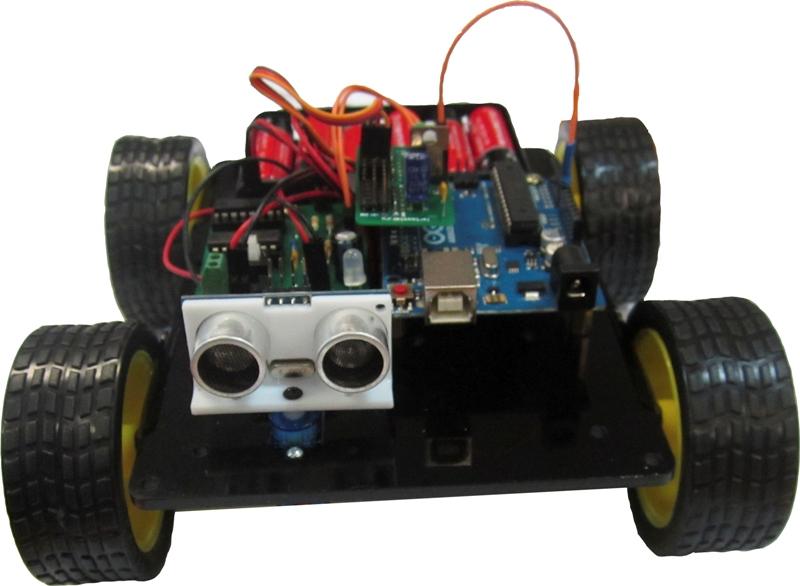 Конструктор ЛАРТ «Робот с УЗ датчиком» контрольн робота з болог 10 11 клас