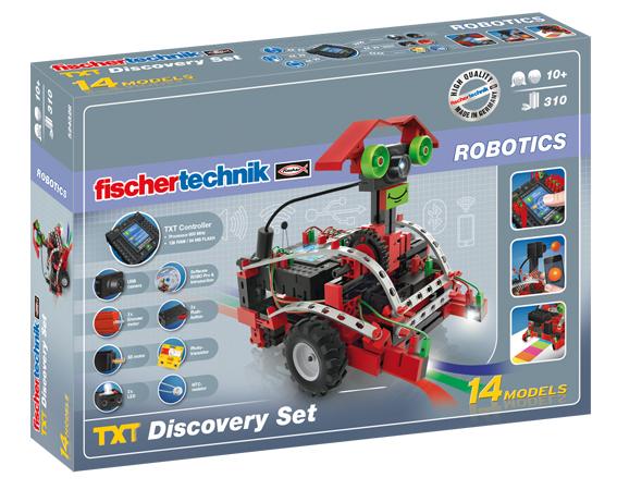 Fischertechnik ROBOTICS TXT Набор первооткрывателя fischertechnik 3d принтер