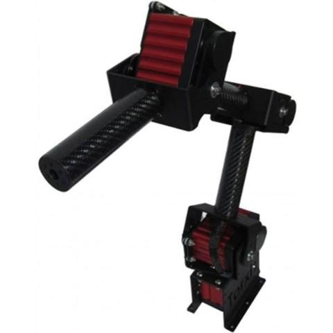 Modular 4 DOF Robot Arm - Position Control (Carbon Fiber)