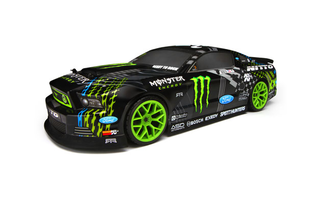 HPI Sprint 2 Mustang Vaughn Gittin 4WD 2.4Ghz (дрифт) машина р у дрифт 4wd 21см 666 281 ford