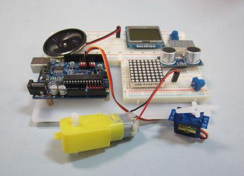 Электронный конструктор «Эксперименты с программированием «ПРОГ-1200»