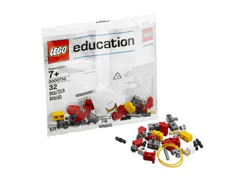 Набор с запасными частями LEGO Education WeDo 2000710, 32 детали (7+) набор lego education первые механизмы 9656 5