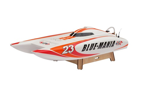Joysway Blue Mania 2.4G brushed, with 11.1V 1300mAh 35C LiPo & 3S balance charger and DC adapter