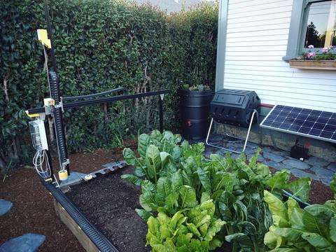 Робот-садовник Farmbot