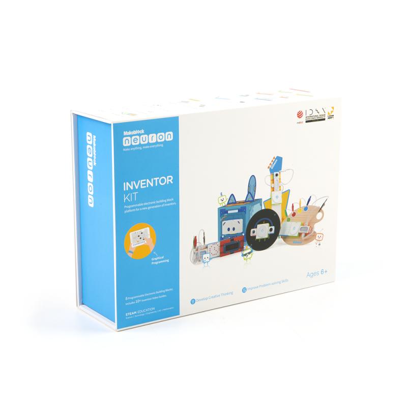 Электронный конструктор Makeblock Neuron Inventor Kit - Робототехнические и программируемые конструкторы в интернет магазине белья Малагон
