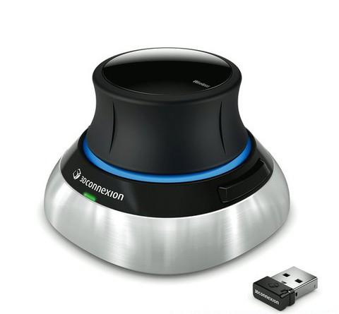 3D манипулятор 3DConnexion 3DX-700043 SpaceMouse Wireless (для студентов, преподавателей и образовательных учреждений)