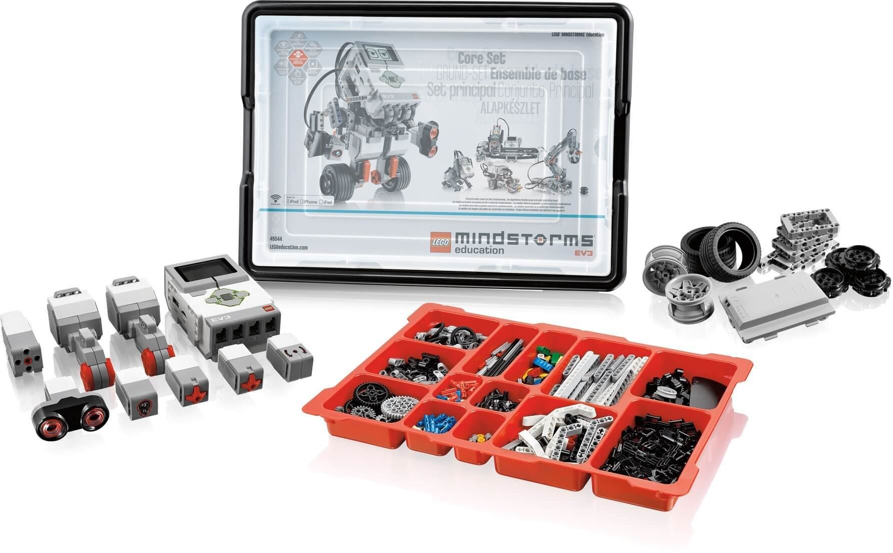 Базовый набор Mindstorms EV3 Lego Education 45544
