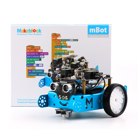 Образовательный набор mBot v1.1-Blue (Bluetooth Version)