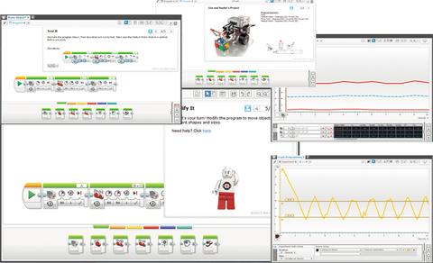 Комплект Mindstorms EV3 ПО + лицензия на 1 ПК (2000045) Образовательная версия