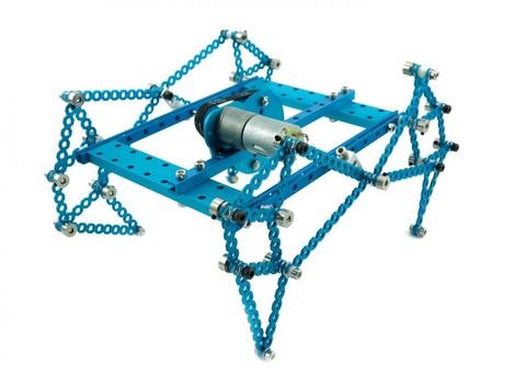 Лабораторный набор Lab Robot Kit-Blue (без электроники)