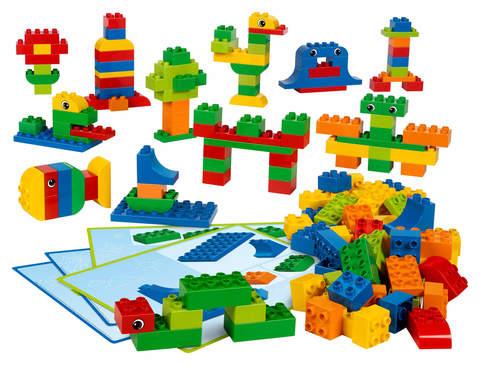 «Кубики для творческих занятий» Lego Education 45019 (2+)