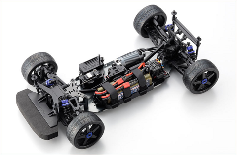 Kyosho Aston Martin Brushless 4WD 2.4Ghz