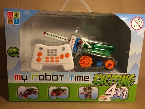 Роботы-конструкторы MRT exciting (HUNA Fun & Bot 3 - 10 роботов + пульт)