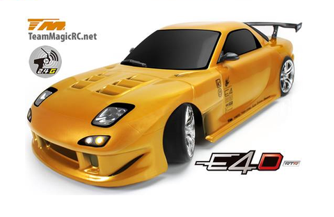 Team Magic E4D Mazda RX7 4WD 2.4Ghz