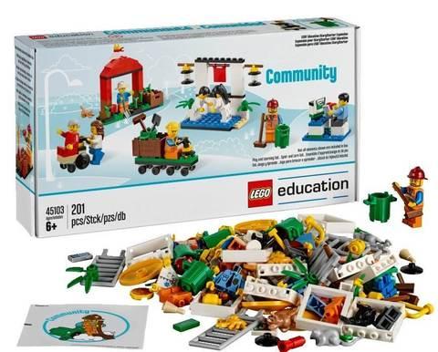 Дополнительный набор LEGO Education «Построй свою историю. Городская жизнь» 45103 (6+)