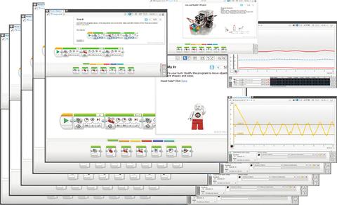 Комплект Mindstorms EV3 ПО + групповая лицензия (2000046) Образовательная версия