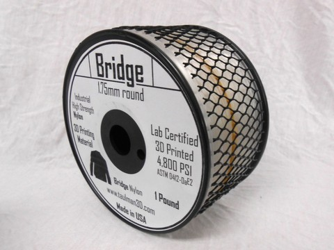 Катушка Taulman 3D Nylon Bridge 0,45 кг.1,75 мм
