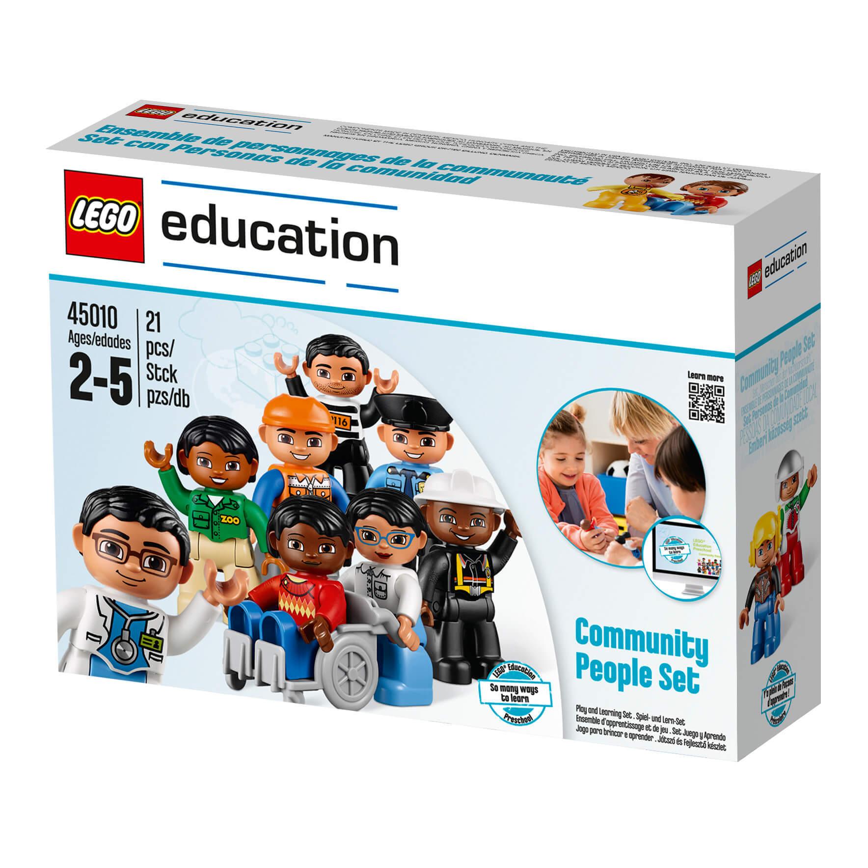 «Городские жители» Lego Education 45010 (2+)