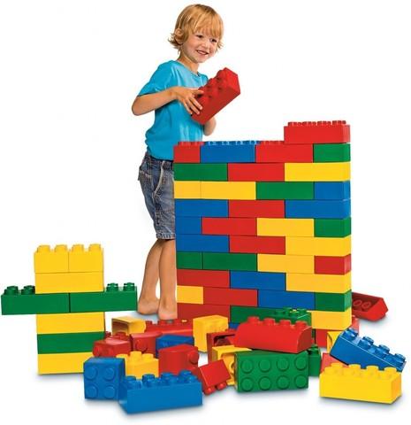Мягкие кубики базовый набор Lego Duplo 45003