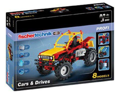 Конструктор Fischertechnik Profi 516184 Авто и двигатели