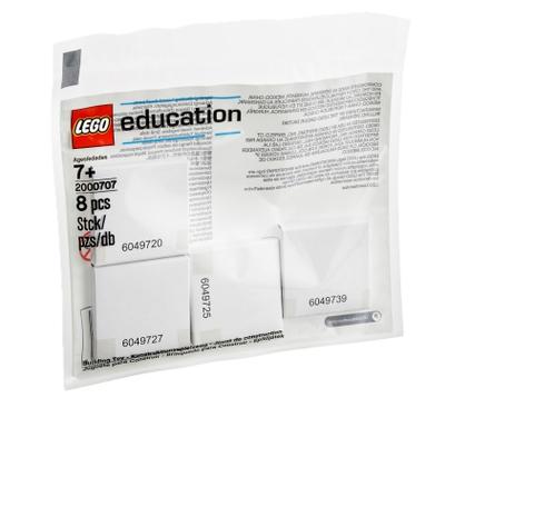 Набор с запасными частями LEGO Education «Резиновые кольца и приводы», 8 деталей