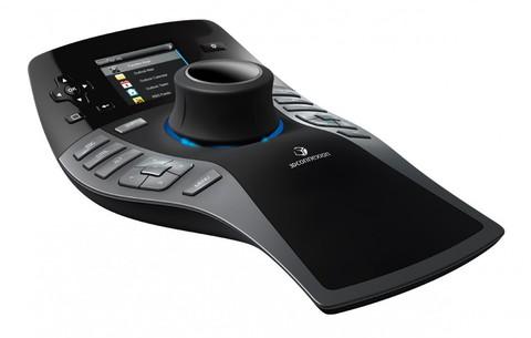 3D манипулятор 3DConnexion 3DX-700036 SpacePilot Pro, USB