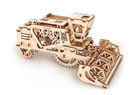 3D пазлы UGEARS Комбайн
