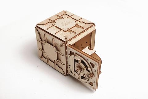 3D пазлы UGEARS Сейф