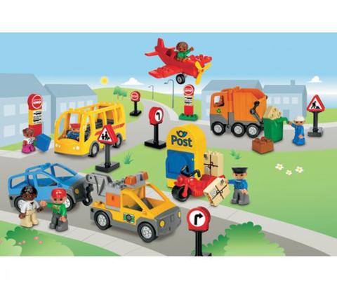Общественный и муниципальный транспорт Lego Duplo