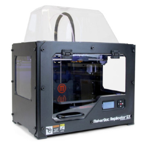 3D принтер MakerBot Replicator 2X (2 ПГ)