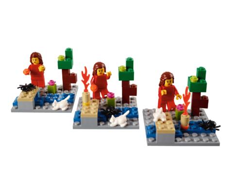 Комплект оборудования Построй свою историю на 15 учеников Lego