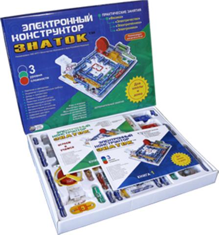 """Электронный конструктор Знаток """"Для школы и дома"""""""