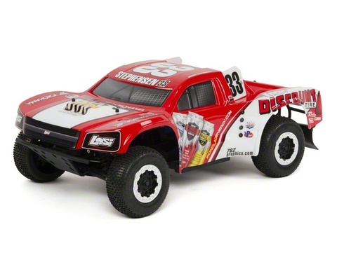 Losi Short Course Truck 4WD (красно-серый)