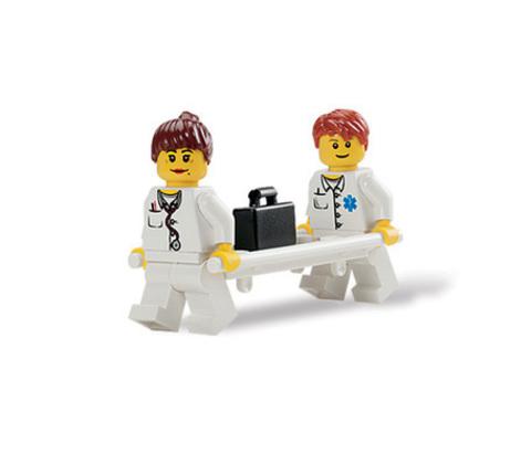 Работники муниципальных служб Lego System 9348 (4+)