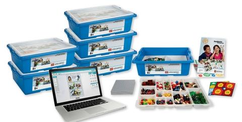 Комплект оборудования Построй свою историю на 30 учеников Lego