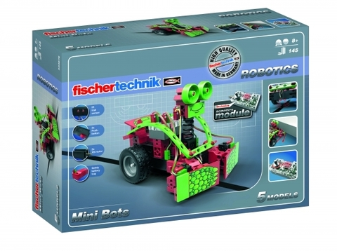 Электромеханический конструктор Fischertechnik Robotics 533876 Мини роботы