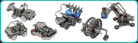"""Технолаб """"Базовый соревновательный уровень"""" образовательный робототехнический модуль"""