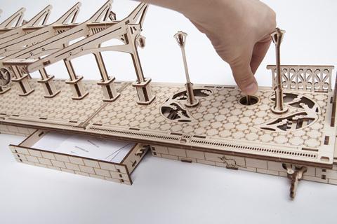 3D пазлы UGEARS Перрон