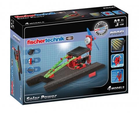 Электромеханический конструктор Fischertechnik Profi 533875 Солнечная энергия
