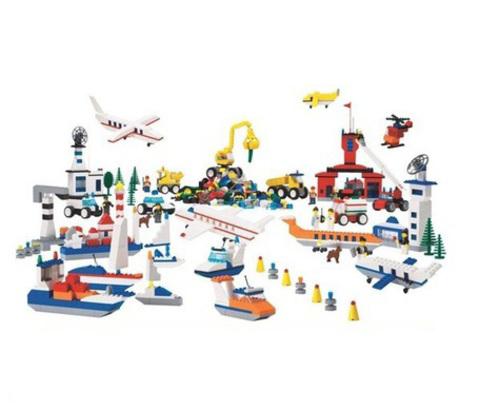 Грузовой и пассажирский транспорт Lego 9321