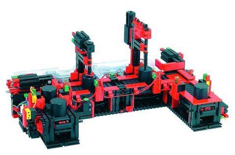 Конвейер с двумя постами обработки 9 В с двумя контроллерами