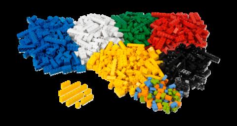 Строительные кирпичики Lego System 9384