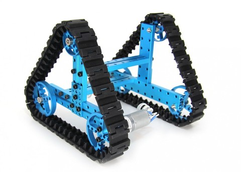 Расширенный набор - конструктор Advanced Robot Kit-Blue (без электроники)