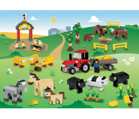 Животные Lego
