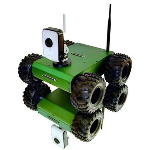 Мобильный робот 4x4 с камерой D-Link