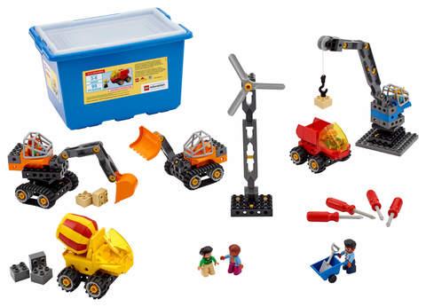 «Строительные машины» Lego Education 45002 (3+)
