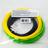 Комплект ABS-пластика ESUN 1.75 мм. для 3D ручек (черный, желтый, светло-зеленый), 10 метров каждого цвета
