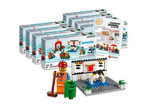 Дополнительный комплект Lego Education Построй свою историю Развитие речи 2.0