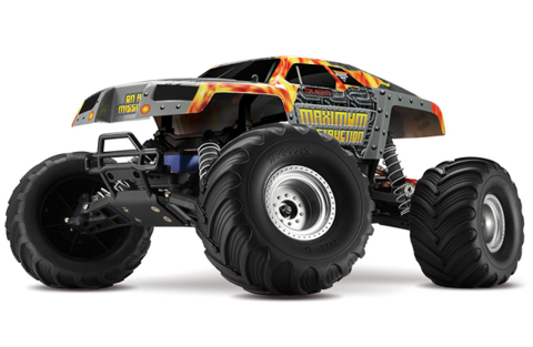Traxxas Maximim Destruction 2WD 27Mhz
