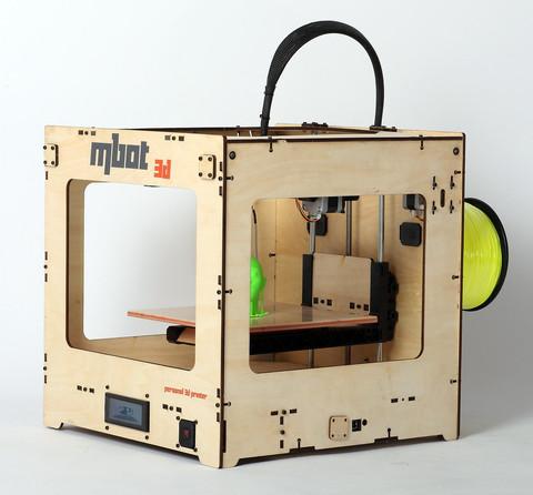 3D принтер MBot Cube Plywood SH